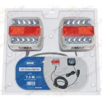 KIT LUCI MAGNETICI CON FANALI A LED 7,5 M / 2,5 M