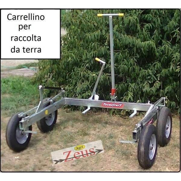 CARRELLINO MANUALE PER LA RACCOLTA